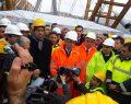 Nissibi Köprüsünün Son Tabliyesinin Kaynağını Bakan Lütfü Elvan Yaptı