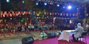 EĞİTİMCİ YAZAR VAKKASOĞLU RAMAZAN'IN MEDENİYETİNİ ANLATTI