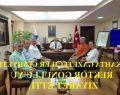 Kahta Gazeteciler Cemiyeti Rektör Gönüllü'yü Ziyaret Etti.