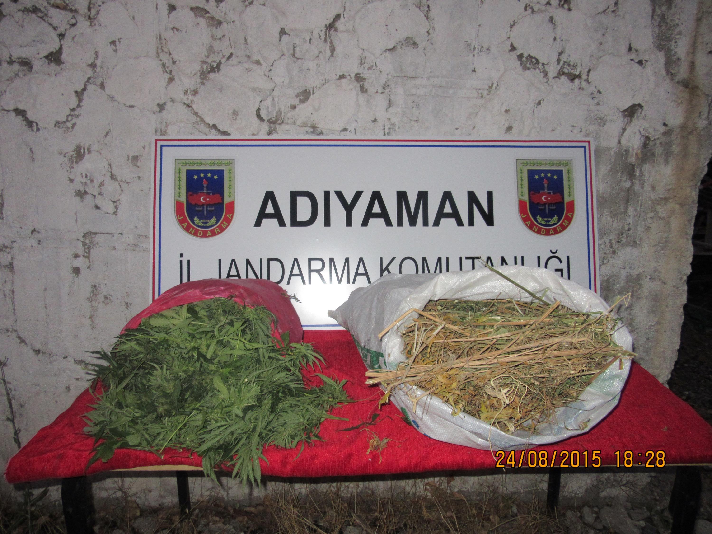 İl Jandarma Komutanlığı Uyuşturucu Maddesi Ele Geçirdi