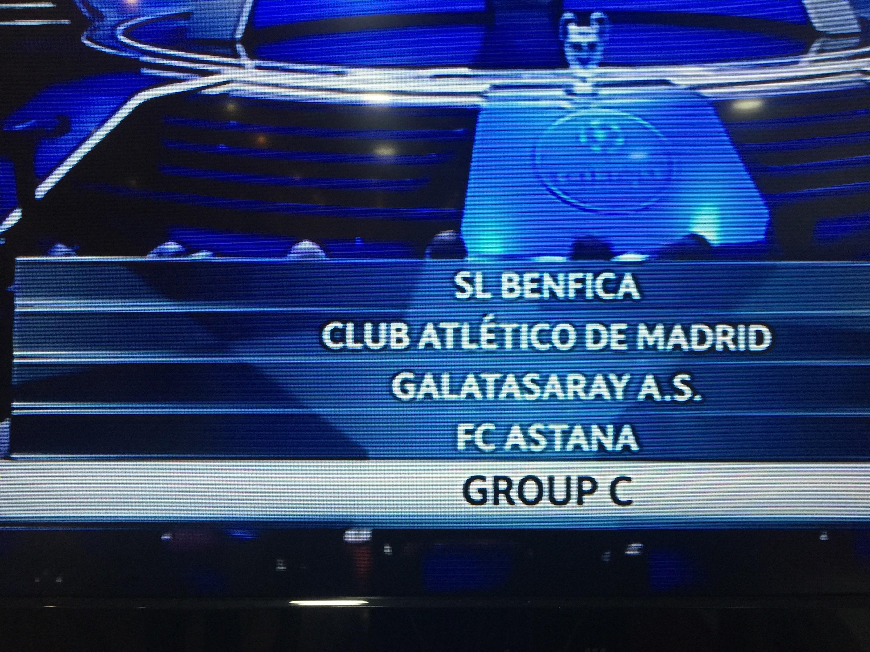Galatasaray'ın Şampiyonlar Ligindeki Grubu