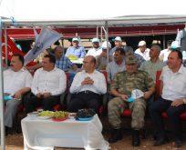 Kahta'da Badem Hasadı Başladı
