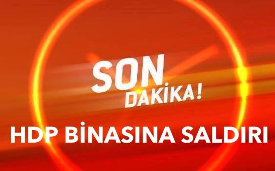Antalya'da HDP Binasına Saldırı