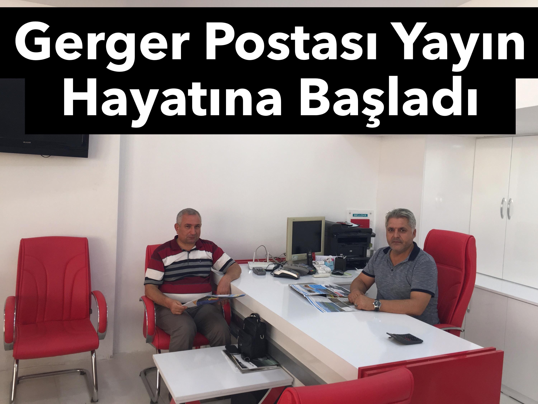 Kahta Gazeteciler Cemiyeti Üyesi 'Gerger Postası Gazetesi ' Yayın Hayatına Başladı