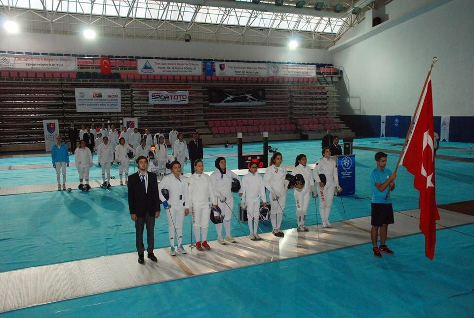 Türkiye Eskrim Şampiyonası Adıyamanda Başladı