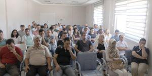 Adıyaman Ağız ve Diş Sağlığı Merkezinde Toplantı Yapıldı.