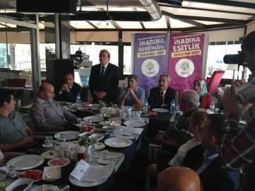 HDP İl Teşkilatı Adıyaman Basınıyla Kahvaltıda Buluştu