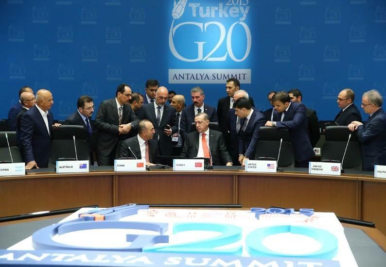 ERDOĞAN, G-20 LİDERLER ZİRVESİ ÖNCESİ ANTALYA'DA İNCELEMELERDE BULUNDU