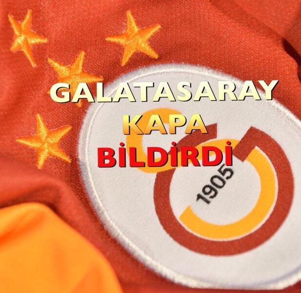 GALATASARAY, MARTİN LİNNES'İ BORSAYA BİLDİRDİ.