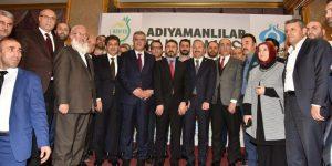 """SULTANGAZİ' DE """"BÜYÜK ADIYAMAN BULUŞMASI"""" MUHTEŞEMDİ"""