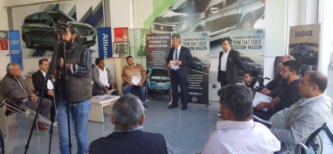 Fiat Engelsiz Hareket Test Sürüşlerİ Adıyaman'da Yapıldı.