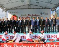 İstanbul'da Çiğköfte, Nar ve Badem Festivali