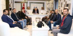 AGC'den Başkan Kutlu'ya Ziyaret