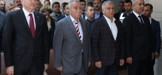 """Bakan Özlü: """"Samsatlıların Sorunlarını Çözeceğiz"""""""