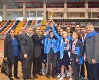 Okullararası  basketbol müsabakalarında kubilay ortaokulu bölgede Adıyaman temsil edecek .