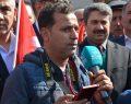 Adıyaman Kalkınma Platformu (AKALP) tarafından Türk Silahlı Kuvvetleri'nce (TSK) Afrin'e yönelik sürdürülen 'Zeytin Dalı Harekatı'na destek mitingi düzenlendi.