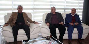 GAP Gazeteciler Birliği Genel Başkanı Zeynel Abidin Kıymaz, Adıyaman Ticaret ve Sanayi Odası Yönetim Kurulu Başkanı Mustafa Uslu'yu ziyaret etti.