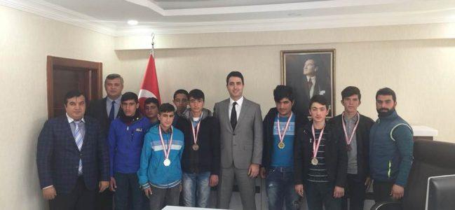 Öğrencilerden Kaymakam Kuruca'ya Ziyaret
