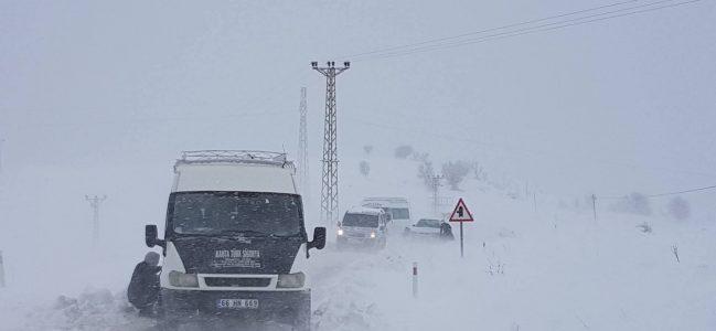 Sincik'te Kar Nedeniyle 100 Öğrenci Okula Gidemedi