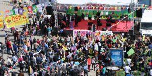 Adıyaman'da 21 Mart Nevruz kutlaması sönük geçti.