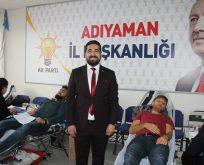 AK Parti Gençlik Kollarından Kan Bağışı