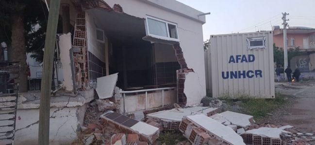 Depremde Bazı Evlerde Hasar Oluştu-Videolu Haber