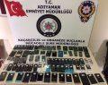 Telefonculara Operasyon: 105 Gümrük Kaçağı Telefon Ele Geçirildi