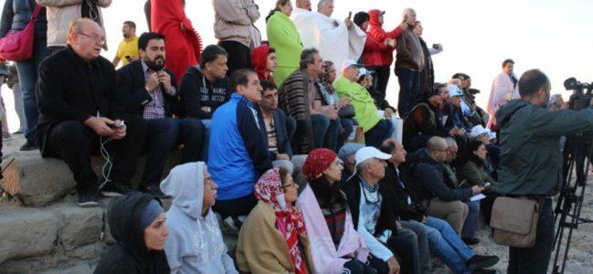 Nemrut Dağı'na Turist Sayısı 100 Bini Aşması Bekleniyor
