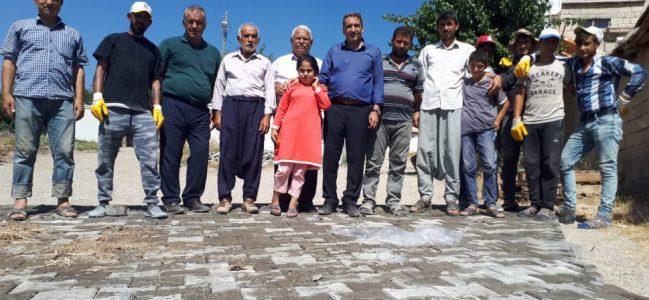 Köylerde Parke Taşı Seferberliği