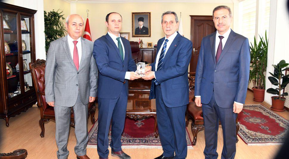 Meteoroloji Bölge Müdürü Erdoğan'dan Vali Kalkancı'ya Ziyaret