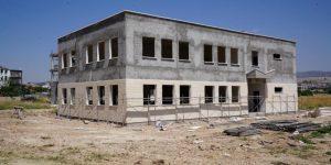 Yeşilyurt Mahallesi Taziye Evi İnşaatı Devam Ediyor