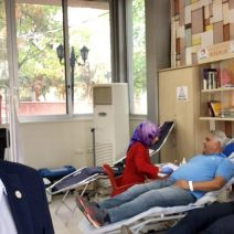 KGC, Sağlık-Der Adıyaman Şube Başkanlığının Düzenlediği 'Kan  Bağışı kampanyasına ' Katıldı.
