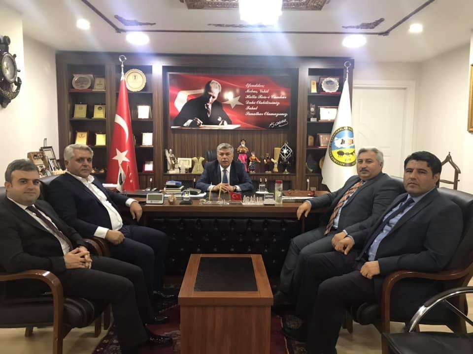 KGC, Başkan Salmanı ziyaret etti.