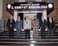 Vali Aykut Pekmez, Emniyet Ve Jandarma'dan Brifing Aldı