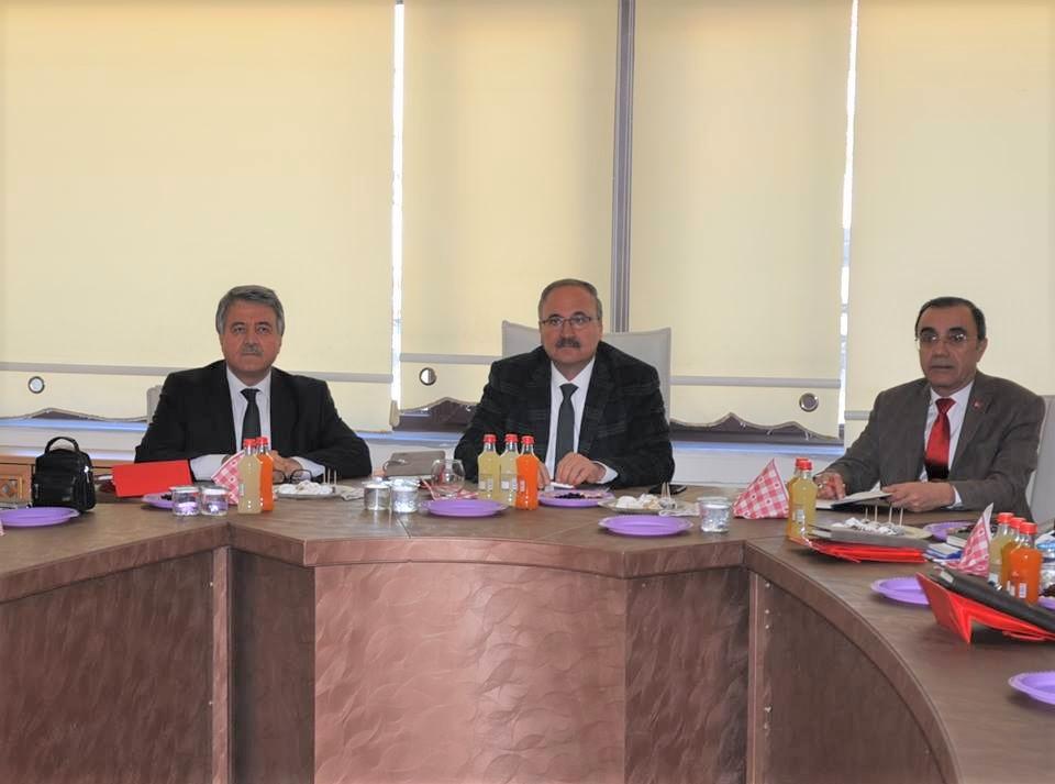 Milli Eğitim Müdürleri Toplantısı Gölbaşı'nda Yapıldı