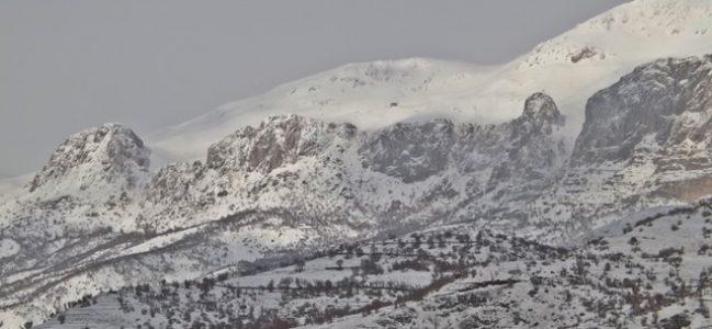 Gerger'de Kar Yağışı Etkili Oldu.