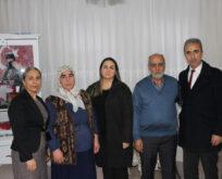 Pekmez'in Eşi Yeşim Pekmez'den Şehit Ailelerine Ziyaret