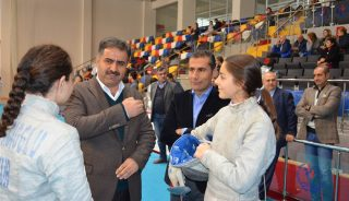 Türkiye Eskrim Şampiyonası Başladı