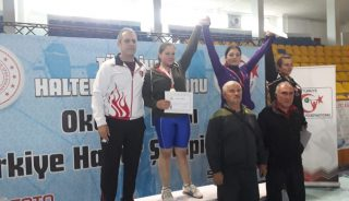 Adıyamanlı Bayan Halterciler Türkiye Şampiyonu Oldu