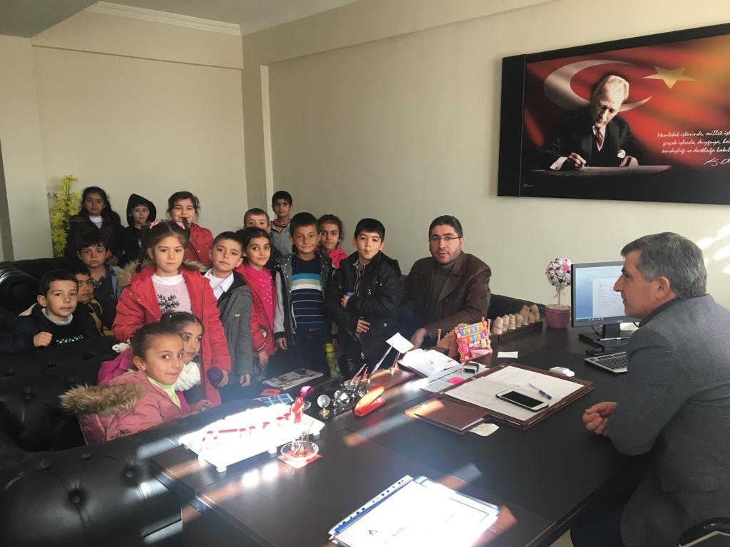 Minik Öğrencilerden Halk Eğitim Merkezi Ziyareti