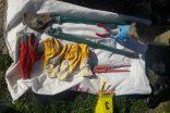 Kahta'da Kablo Hırsızları Yakalandı