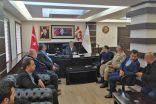Kahta Kaymakamı Kaya'dan , Başkan Turanlı'ya Hayırlı Olsun ziyareti.