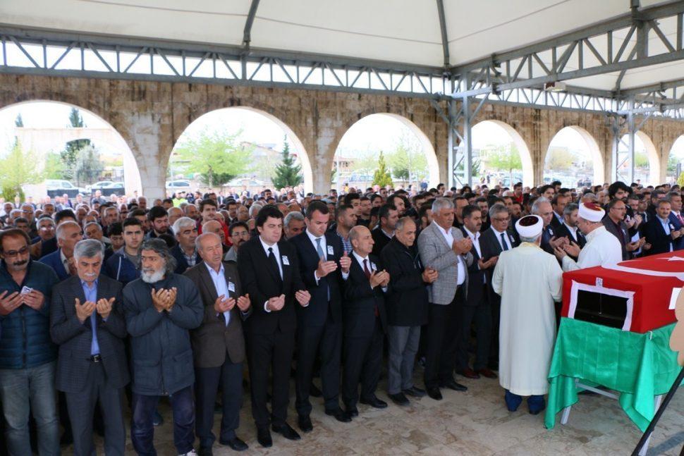 Yiğit Ali Çavuş'un Cenazesi Toprağa Verildi