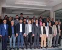 Kahtaspor 1978 Yöneticilerinden Başkan Turanlı'ya Ziyareti
