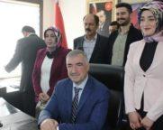 Kahta Belediye Başkanı Turanlı, göreve başladı.