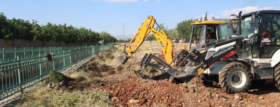Başkan Turanlı Kanal Boyu Projesine Start Verdi