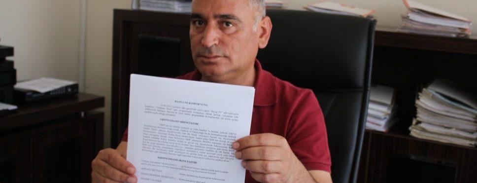 Başkan Turanlı'dan AK Partili Metiner'e Suç Duyurusu