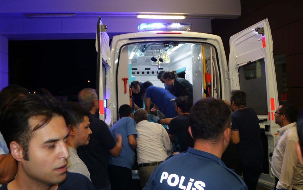 Polis Aracına Silahlı Saldırı: 1 Polis Yaralandı.