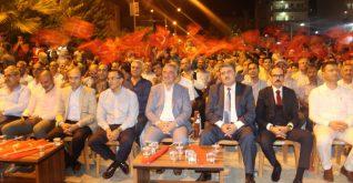 Kahta'da 15 Temmuz Demokrasi Zaferi Şehitleri Anıldı.