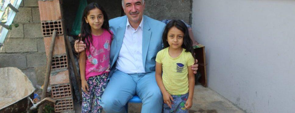 Başkan Turanlı'dan Gazeteci Kamış'ın Ailesine Ziyaret